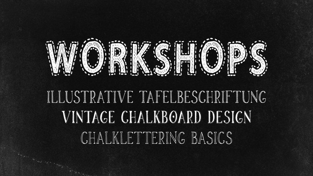 workshops tafelbeschriftung