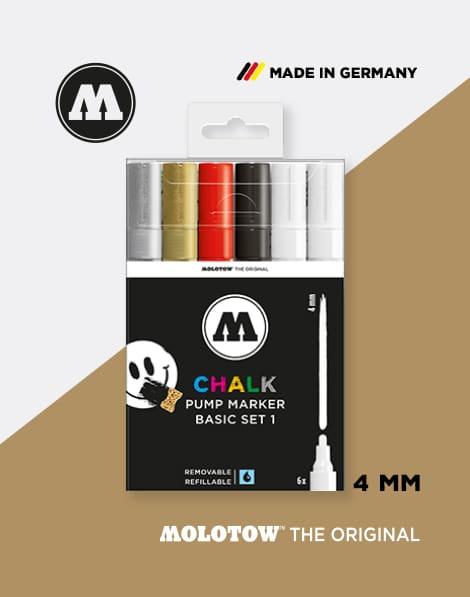 Basis Kreide Stifte Chalk Marker Set